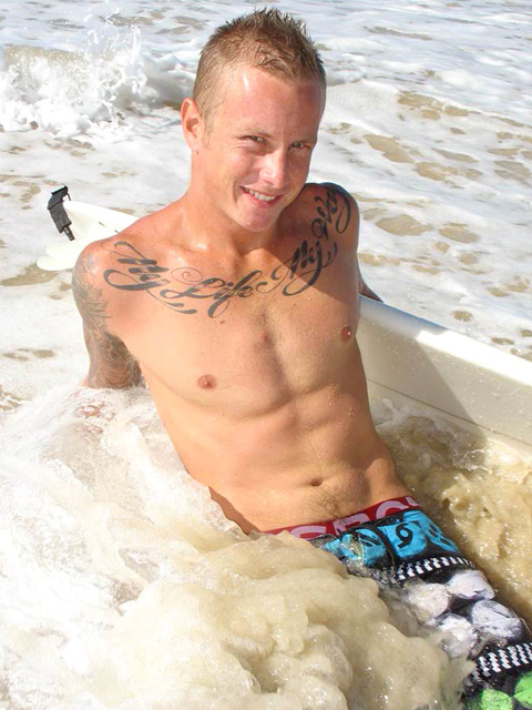 If you're turned on by surfers, freckled blond Codi from All-Australian Boys ...